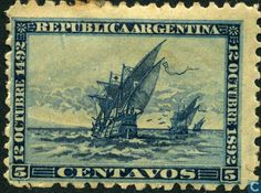 Argentina [ARG] - Hundred years discovery of America 1892