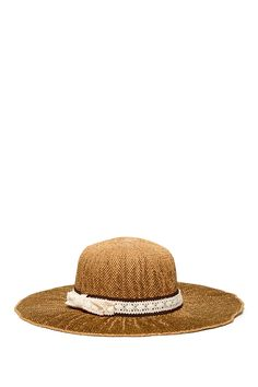 San Diego Hat Company Lace Band Floppy Hat by San Diego Hat Company on @HauteLook