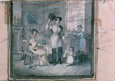 William Sidney Mount, 1840, The Volunteer Fireman