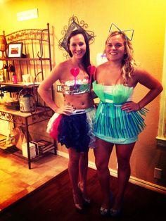 DYI straw dress! Abc party