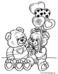 Luxury Coloring Pages Of Valentines Day