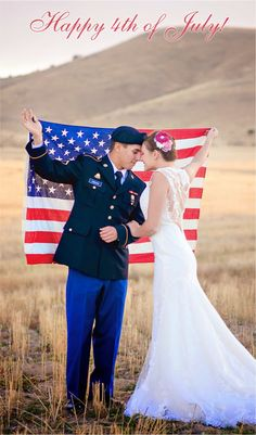4th of July Wedding Inspiration ~ Morgan Slade Photography | bellethemagazine.com