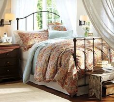 Bella Paisley by Pottery Barn...I want this bedding for our soon to be bedroom sooo bad!