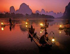 Cormorant Fishermen.