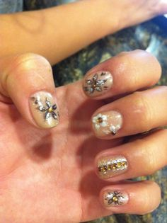 obsessed with the Asian cultures 3D nail art