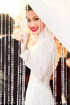 Nini's White Wedding.  Via: ninistyle by  Nini Nguyen