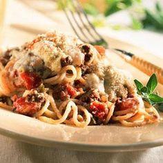 Mediterranean Spaghetti Recipe | MyRecipes.com