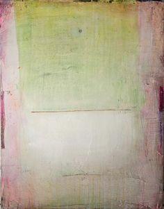 Patricia Larsen: Painting N° 01, plaster on wood