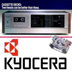Cassette Deck Adverts - 1001 Hi-Fi Recording Equipment, Audio Equipment, Tape Recorder, High End Audio, Hifi Audio, Audio System, Audiophile, Music Images, Electronics