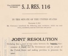 Congress has formally declared war only 11 times in U.S. history, and authorized the use of military force 11 times.