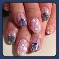 Mysterious winter art nails - AVARICE