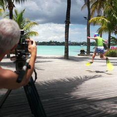 Photos de tournage du prochain film de Beachcomber Photo-shooting of the new Beachcomber film By Eric Genillier, Claude Degoutte, Renaud Vandermeeren, Brice Charrue et Axel Ruhomaully At Le Mauricia