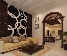 Kerala Home Designs Kerala House Design, Kerala Houses, Living Area, Chandelier, Ceiling Lights, Ideas, Home Decor, Candelabra, Decoration Home