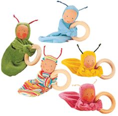 Myriad Natural Toys - Baby & Toddler Toys - First Dolls & Soft Toys