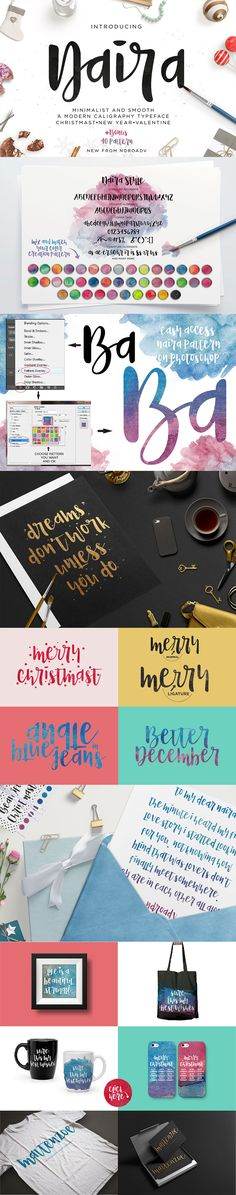 50 Brand New Fonts to Lust After | MyDesignDeals