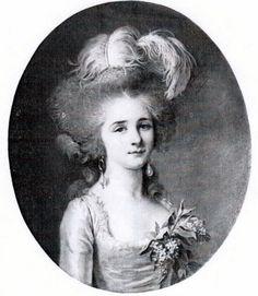 The Princess of Béthune was probably Albertine-Joséphine-Eulalie Le Vaillant (1750–1789), who married Eugène-François-Léon, prince de Béthune (1746-1824). Mme Labille-Guiard painted this beautiful portrait of the princess where she appear very young and elegant.