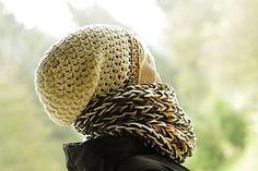 Čiapky - zasnežený javorový list:) čiapka k nákrčníku babušníku - 7294172_