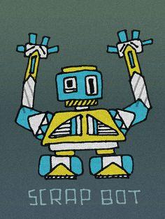 Scrap bot