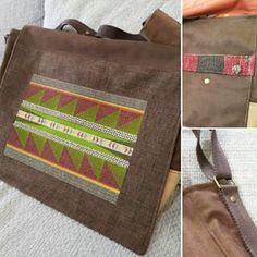 Męska Torba Listonoszka👜👨#nelamiko #2018 #man #fashion #streetfashion #bag #handmade #handmadebags #ethnic #indian #apache #boho #vintage #brown #green #red #beige #upcyklingart #upcycling Man Fashion, Handmade Bags, Messenger Bag, Ethnic, Satchel, Beige, Indian, Street Style, Boho