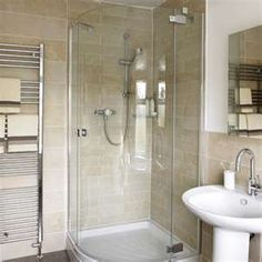 I want to knock out the walls of my shower and put something like in.