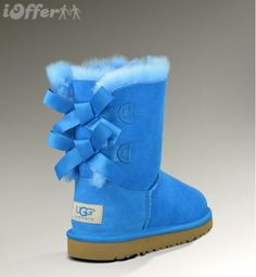 blue and green uggs