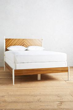Geo Marquetry Bed