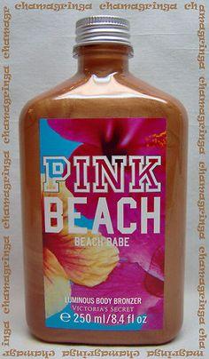 Victoria's Secret PINK BEACH ☼ Beach Babe ☼ LUMINOUS BODY BRONZER sold out!