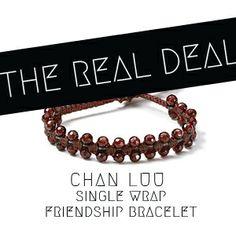 Quiet Lion Creations: Chan Luu Single Wrap Macrame Bracelet