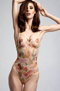 oriental morphosis body suit by marlies|dekkers