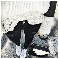 "Audrey on Instagram: ""⚫️⚪️ #junebrussels #masscob #hironae #celiaetlouise ..."""