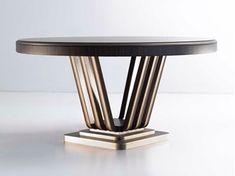Round zebrano table C 1594 | Round table