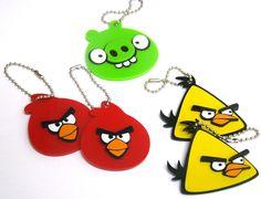 chaveiro personalizado angry birds
