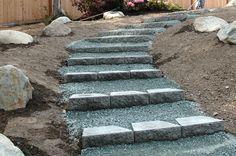 landscape steps...