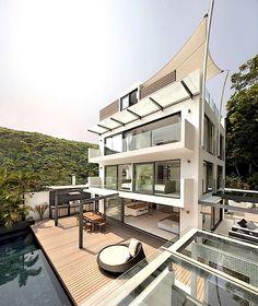 #modern #home #architecture | #Casa Bosques | Original Vision