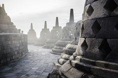 Monuments in Borobudur, Jawa Tengah, Indonesia - stock photo Asian Games, Borobudur, World Best Photos, Monuments, Asian Art, Mount Rushmore, Bali, Stock Photos, Statue