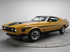 1971 Mustang Mach 1 | 1971 Ford Mustang Mach 1  Classic Car
