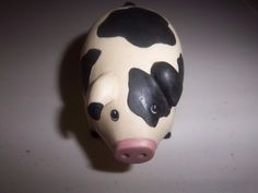 Rare Find Princeton Gallery Pig From The Treasury Of Country Pigs Collection