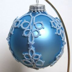 tatted christmas ball - Google Search