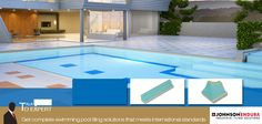 """Get complete swimming pool tiles from Johnson Endura. To know more about the complete range of pool tiles, pool fittings and accessories """"Talk to our Expert"""" http://enduratiles.com/"""