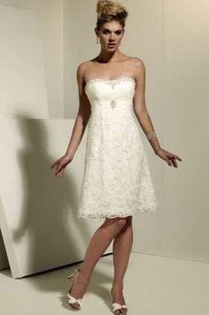 Neues kurzes Hochzeitskleid Ballkleid Gr.34/36/38/40+++