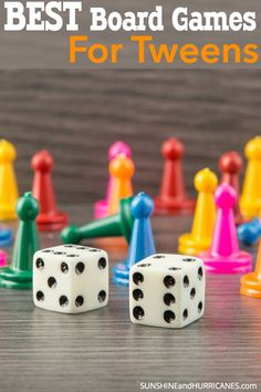 Tweens aren't too old for games, you just have to know which ones to pick. Family game nights are a great way to connect with this sometime challenging age group. Here are the best board games for tweens that we play and enjoy in our households.