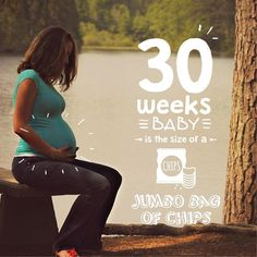 30 weeks baby sure has the size of a bag of chips but am certainly loving it  (Find this artwork in our 'Foods' & 'Doodles' pack. Link to download 'Baby Story' App in our bio) @BabyStoryApp #BabyStoryApp