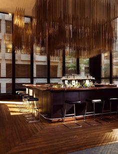 Incredible Bar Interior Design with Tropical Inspirations! Bar Interior Design, Interior Design Inspiration, Design Ideas, Bar Designs, Interior Designing, Design Interiors, Design Styles, Furniture Inspiration, Design Design