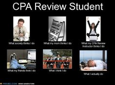 CPA Exam Review Student