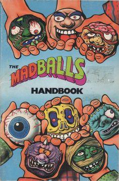 The Madballs Handbook Retro Toys, Vintage Toys, Childhood Toys, Childhood Memories, Psychadelic Art, 8bit Art, Garbage Pail Kids, Arte Horror, Old Toys