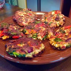 Tasty and (Mostly) Healthy Recipes: Crispy Mediterranean Veggie Cakes