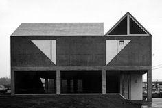 Toru Murakami & Associates, House in Hogo-cho, Toyota, Hiroshima, Japan, 1984-1986