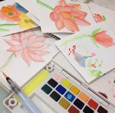 Water color… | kitty manu