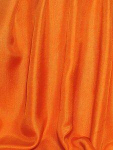orange drapery fabric