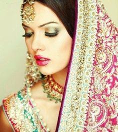 Indian Bride MakeUp!(: